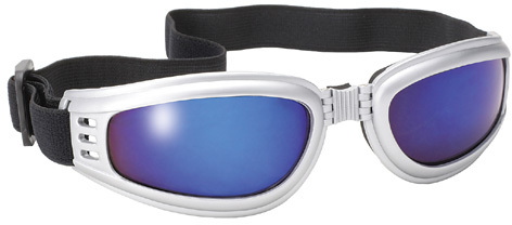 f7fb2bbbc69 Pacific Coast Sunglasses Airfoil Padded  Fit Over Glasses  Riding Goggles (Black  Frame Clear Lens)