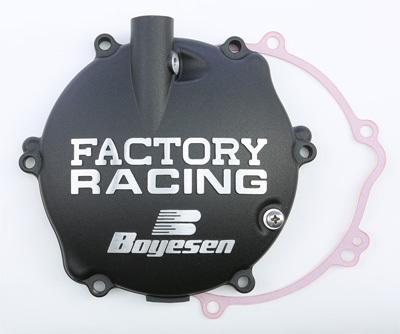 Boyesen CC-42B Black Factory Racing Clutch Cover