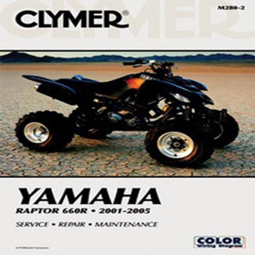 Clymer M280-2 Service Shop Repair Manual Yamaha Raptor 660R 2001-2005 ATV