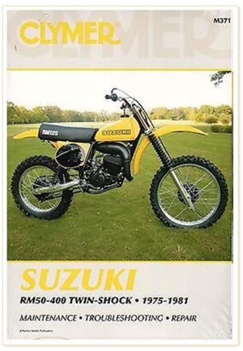 Clymer Suzuki Repair Manual M371