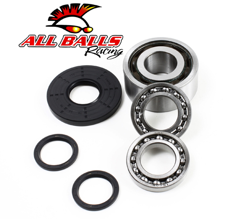 All Balls 25-2073 Front Differential Bearing and Seal Kit All Balls Racing