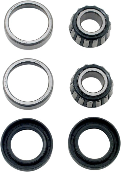 Rear Wheel Bearings Seals Kit Harley FXSTC Softail Custom 1990 1991 1992 1993