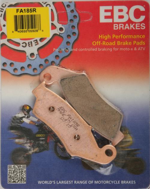 "FA185R Honda XR650 1 Set EBC /""R/"" Sintered FRONT Brake Pads 1993 to 2012"