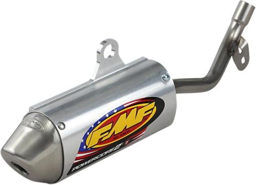 Aluminum 022037 Color Material Natural FMF Racing PowerCore 2 Silencer