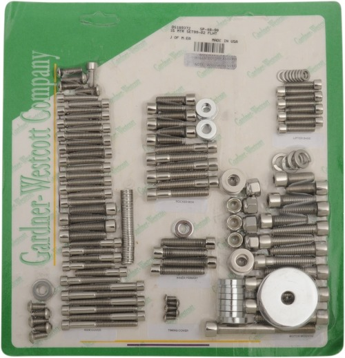 Gardner-Westcott Motor Stainless Steel Socket-Head Bolt Kit SP-88-79