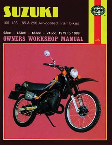 haynes suzuki ts air cooled trail bikes 100 125 185. Black Bedroom Furniture Sets. Home Design Ideas