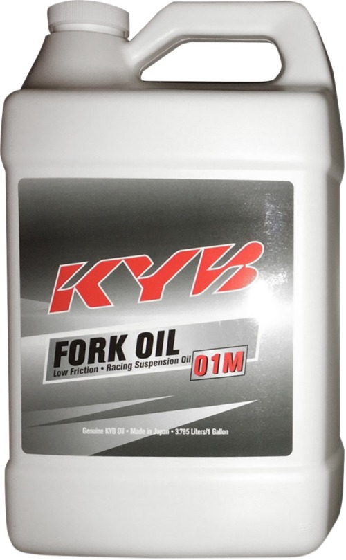 KYB 01M Front Fork Oil - 1 gal  130010050101