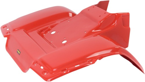 Maier Mfg Fenders Red Rear 117102