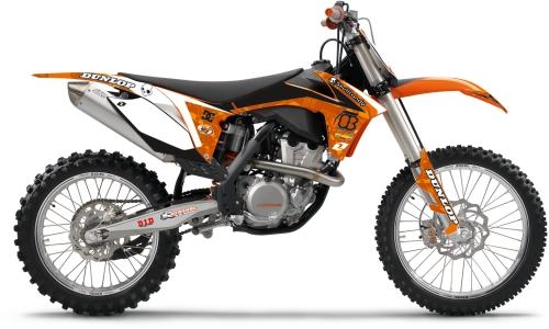 One Industries 2012 Orange Brigade Graphics 63158-012-757