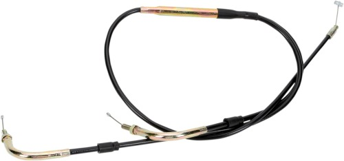 Parts Unlimited Universal Throttle Cable - Mikuni - Dual Cable
