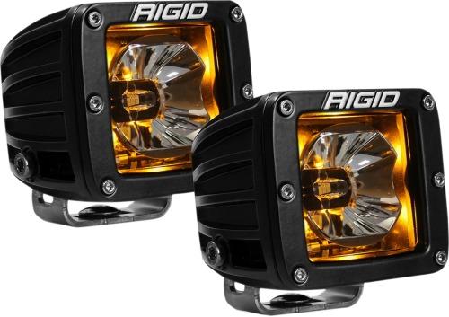 Rigid Industries 20204 RADIANCE Pods Amber Backlight For Jeep Truck SUV UTV ATV