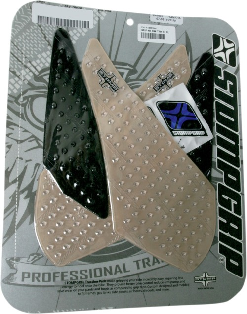 NEW STOMPGRIP 55-10-0031 Traction Pads