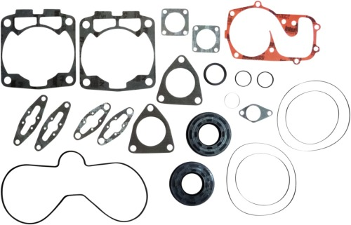 Winderosa 811819 Complete Gasket Kit with Oil Seals