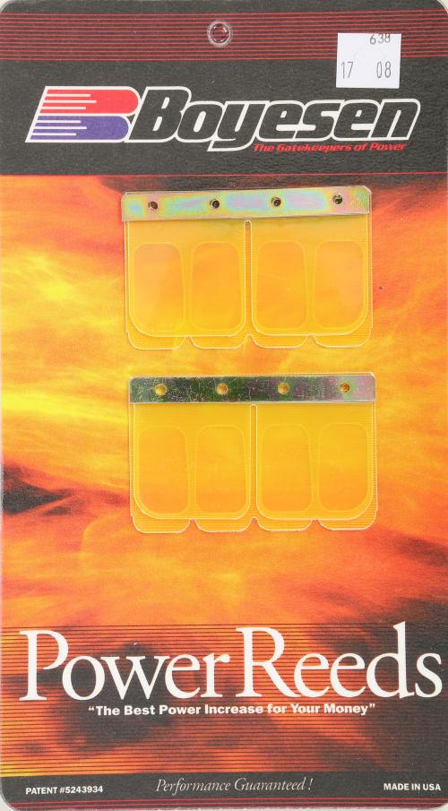 Boyesen Power Reeds For Kawasaki KDX 250 1991-94 Reed Petal 638 04-0638 638R