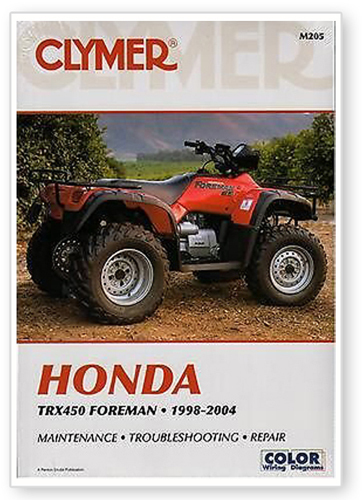 trx450es service manual how to and user guide instructions u2022 rh taxibermuda co Helm Service Manuals Honda Helm Service Manuals Honda
