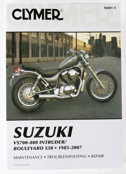 clymer suzuki vs700 vs750 vs800 intruder service manual motorcycle rh ebay com 2005 Suzuki Boulevard VS800 2002 suzuki intruder vs 800 owners manual