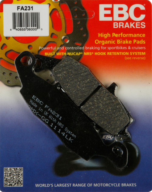 Kyoto Brake Pads,Front Kawasaki VN 900 Classic