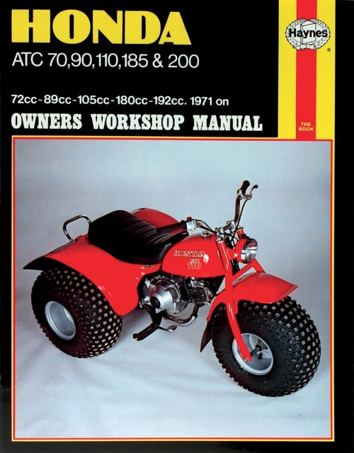 haynes atv repair manuals
