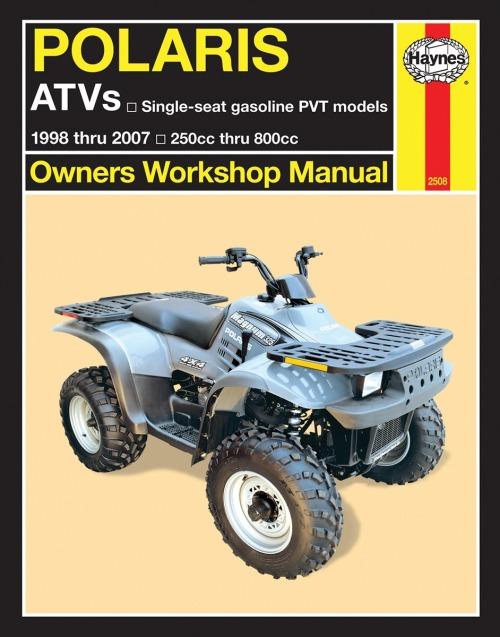 Haynes Repair Manual For 01 06 Polaris Sports500h M2508