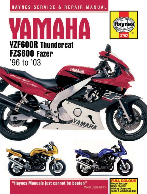 yamaha trx 850 wiring diagram haynes repair manual m3702  haynes repair manual m3702
