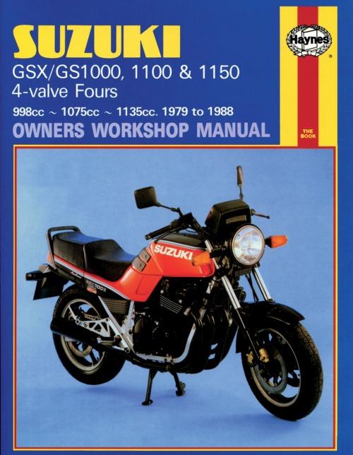 Haynes Suzuki Motorcycle Repair Manual M737