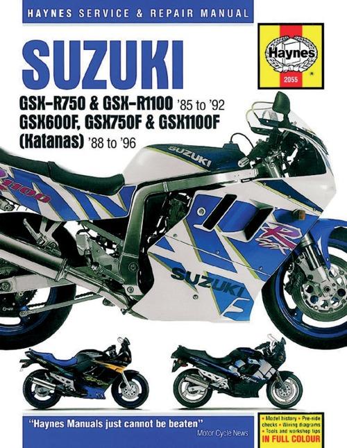 Haynes Reparatur Anleitung Suzuki 3553