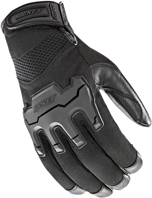 Joe Rocket Eclipse Motorcycle Gloves Extra Large XL Leather Palm Touch 1722-2005