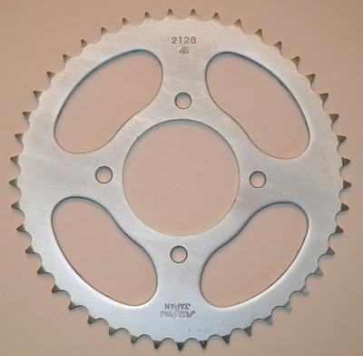 Sunstar 2-554445 45-Teeth 530 Chain Size Rear Steel Sprocket