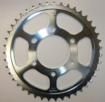 Sunstar 42-Teeth 530 Chain Size Rear Steel Sprocket 2-522642