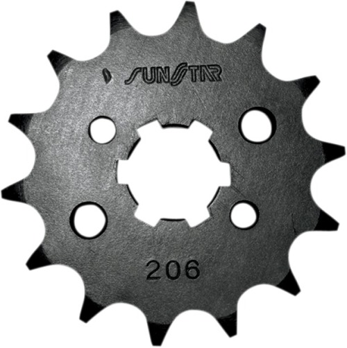 Sunstar 20315 15-Teeth 428 Chain Size Front Countershaft Sprocket