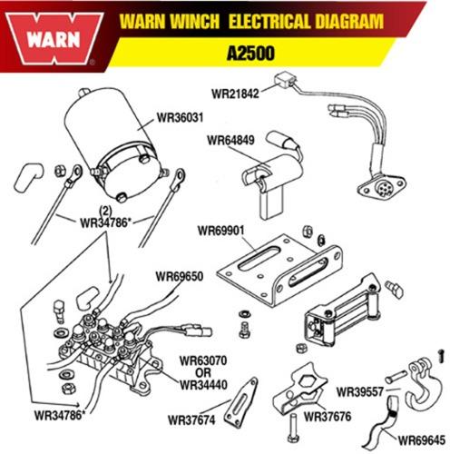 Warn Winch A2500 Wiring Diagram - Wiring Diagram G11 on